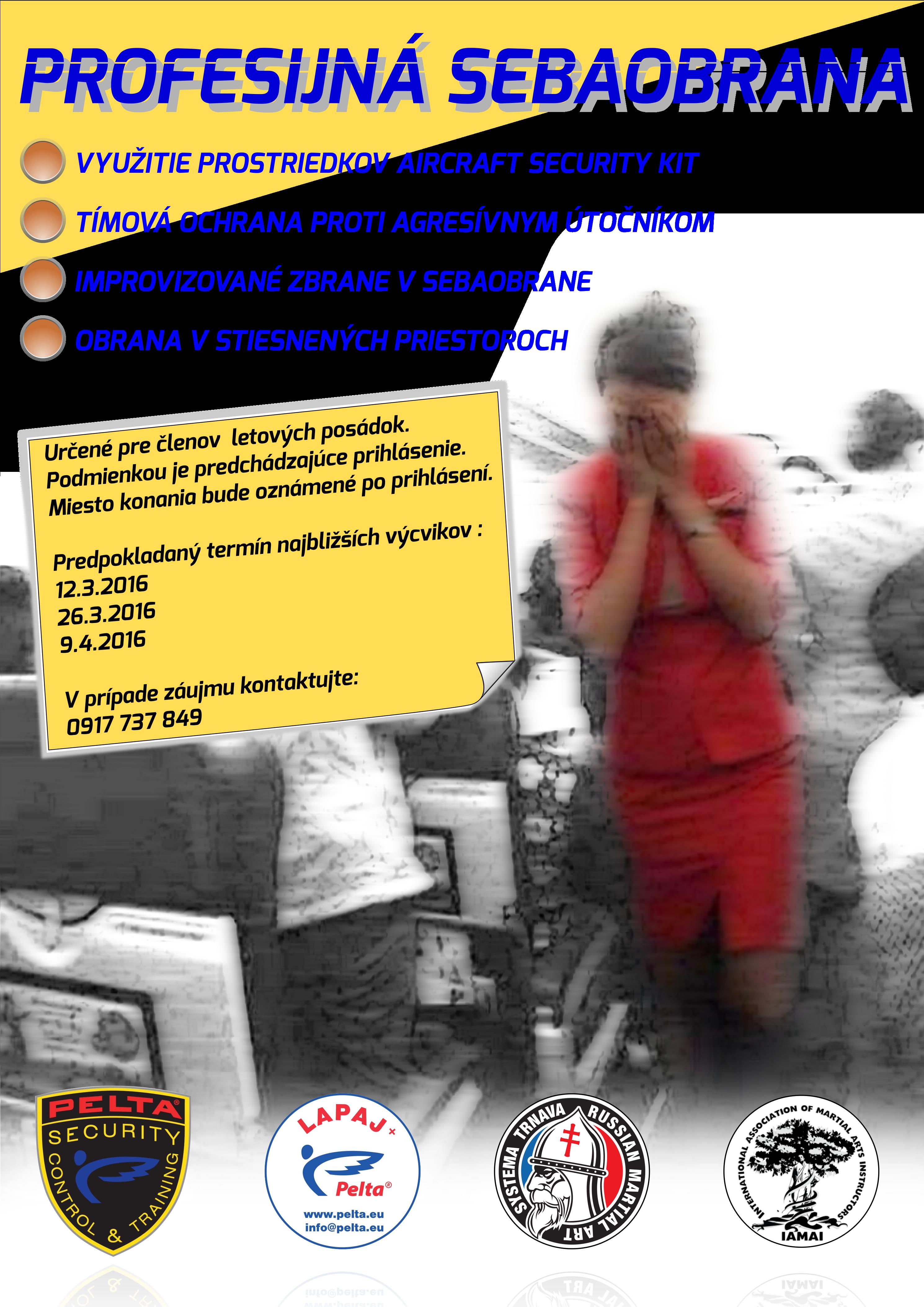 Plagat - PROFESNÁ SEBAOBRANA